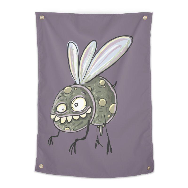 Yuvsketch - Diry Fly Home Tapestry by Yuvsketch's Shop