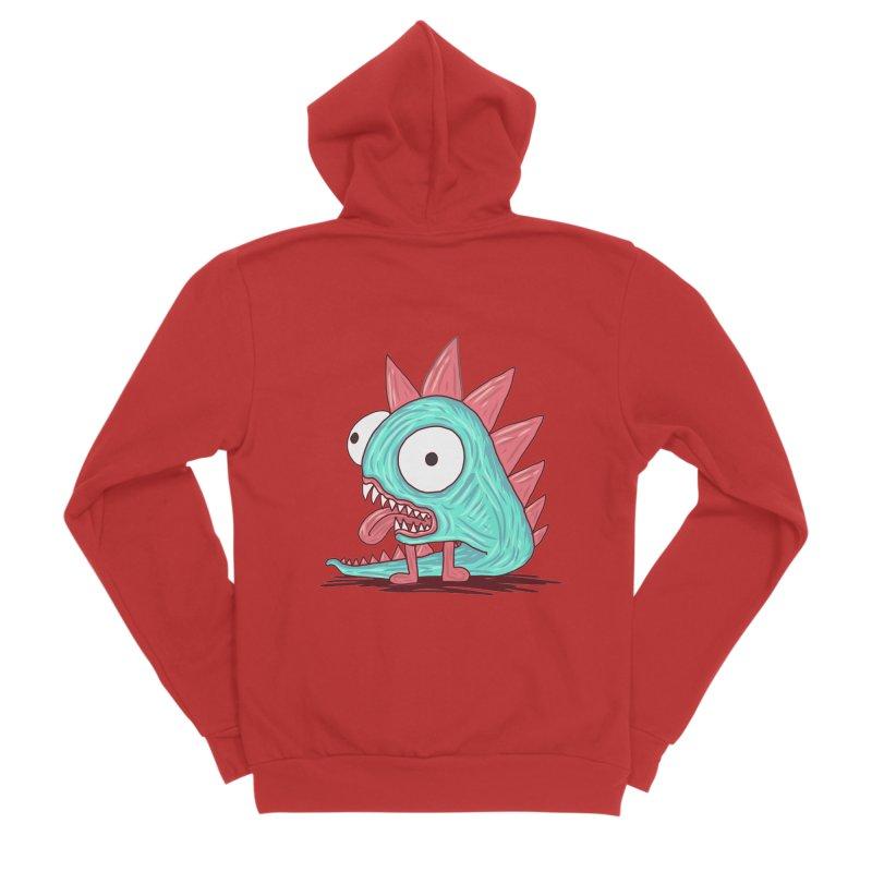 Yuvsketch - Dragon Dinosaur Men's Zip-Up Hoody by Yuvsketch's Shop