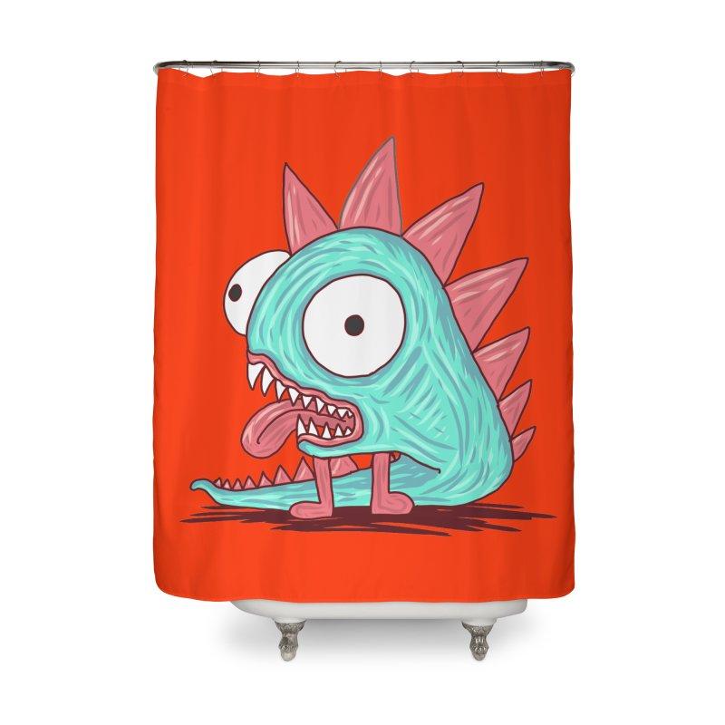 Yuvsketch - Dragon Dinosaur Home Shower Curtain by Yuvsketch's Shop