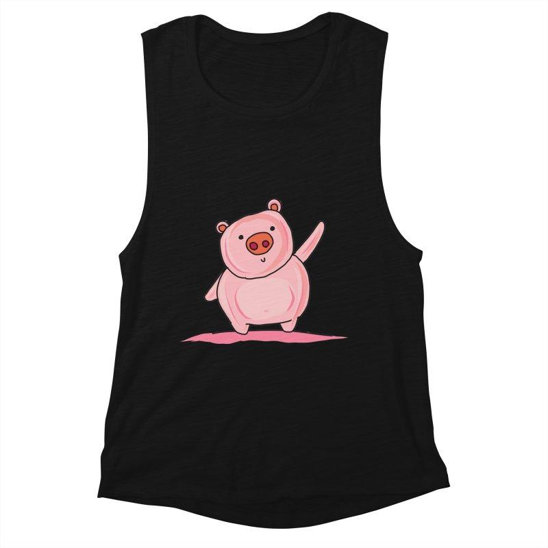 Yuvsketch - Piggy Women's Tank by Yuvsketch's Shop