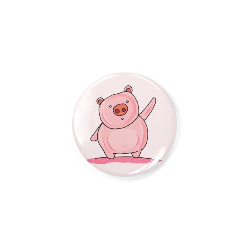 Yuvsketch - Piggy Accessories Button by Yuvsketch's Shop