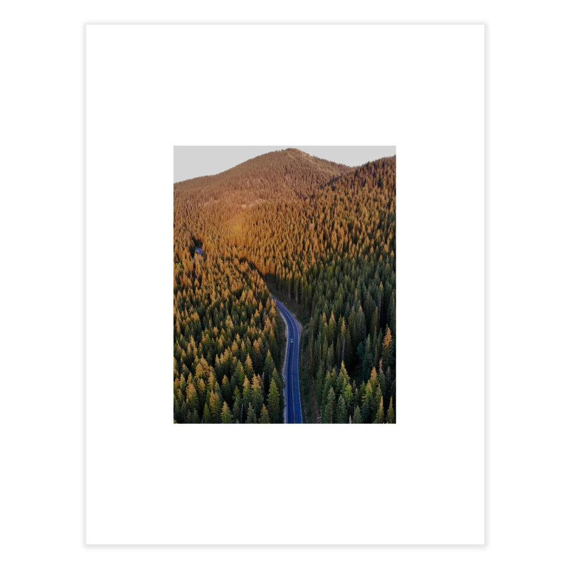 Guardsman Pass at Sunset Home Fine Art Print by Zachary Kenney's Shop