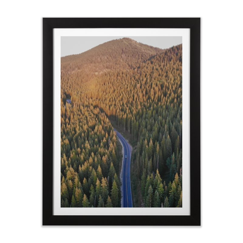 Guardsman Pass at Sunset Home Framed Fine Art Print by Zachary Kenney's Shop