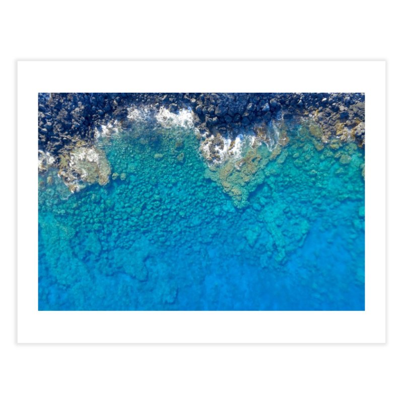 The Blue Waters of Hawaii Home Fine Art Print by Zachary Kenney's Shop