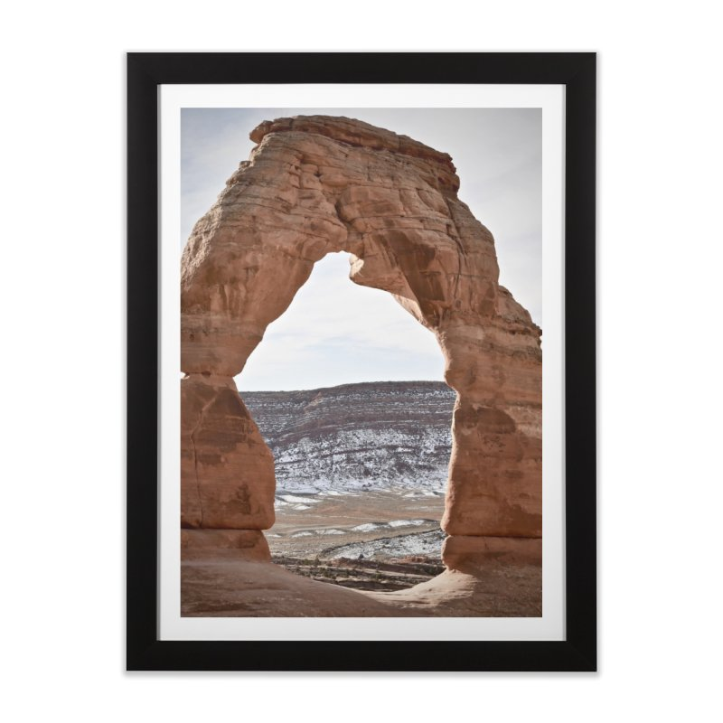 Delicate Arch Home Framed Fine Art Print by Zachary Kenney's Shop