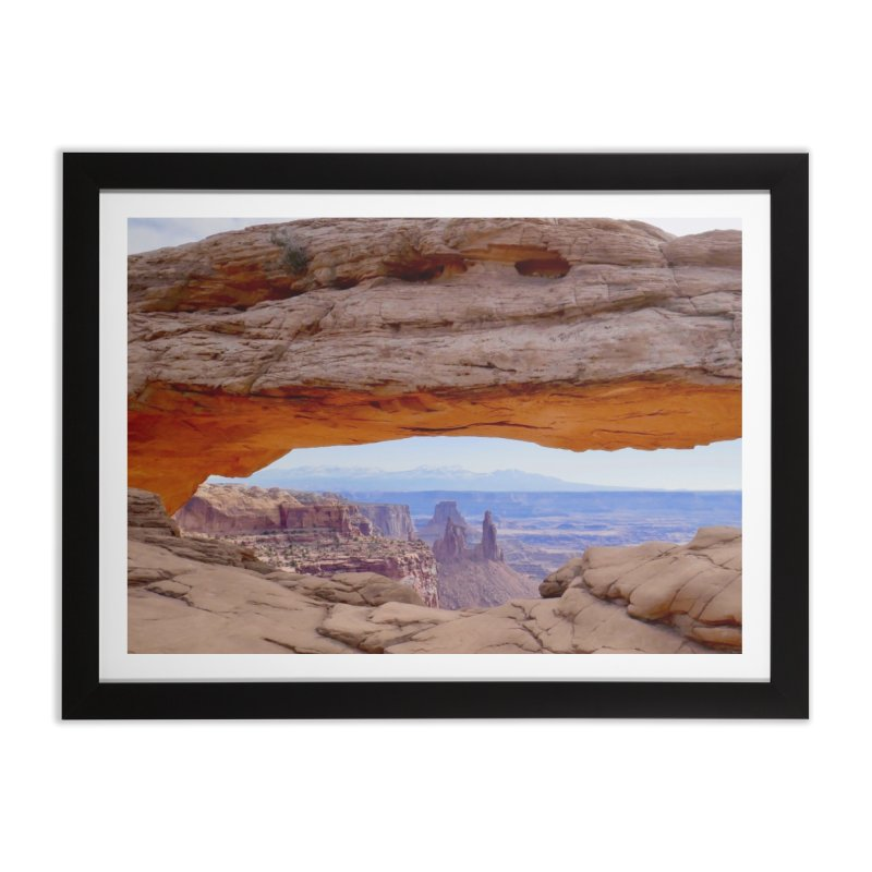 Mesa Arch Home Framed Fine Art Print by Zachary Kenney's Shop