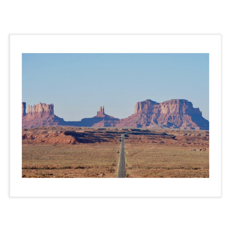 Monument Valley Home Fine Art Print by Zachary Kenney's Shop