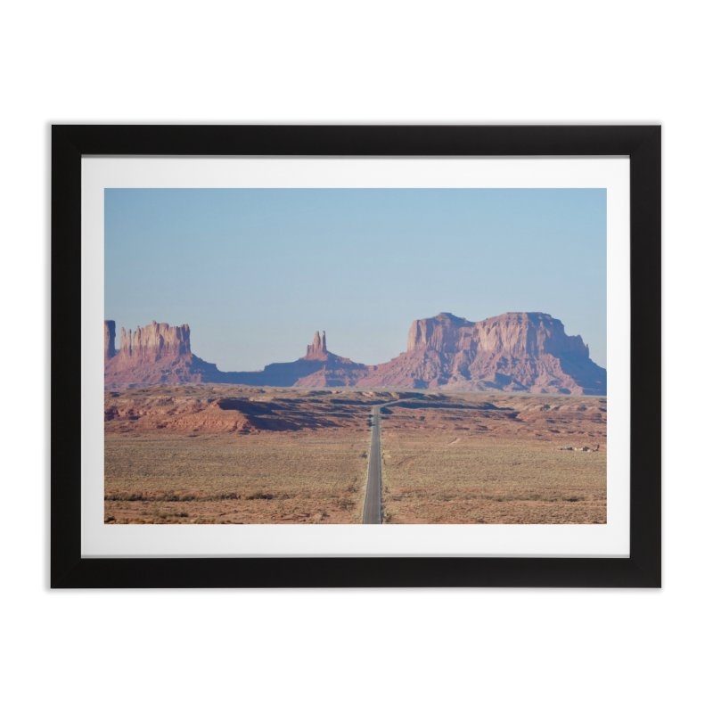Monument Valley Home Framed Fine Art Print by Zachary Kenney's Shop