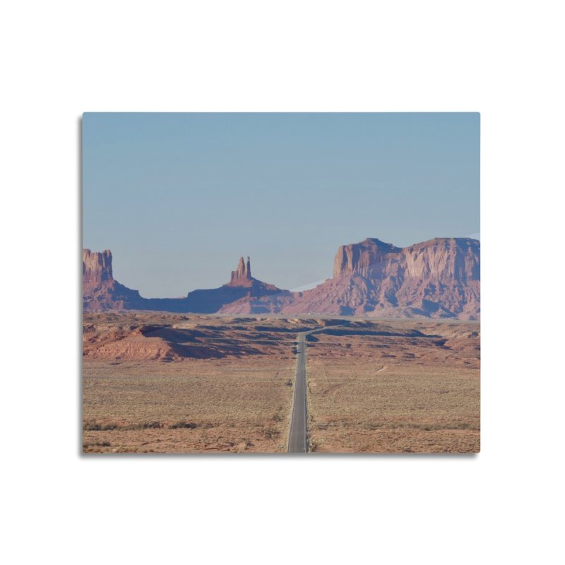 Monument Valley Home Mounted Aluminum Print by Zachary Kenney's Shop