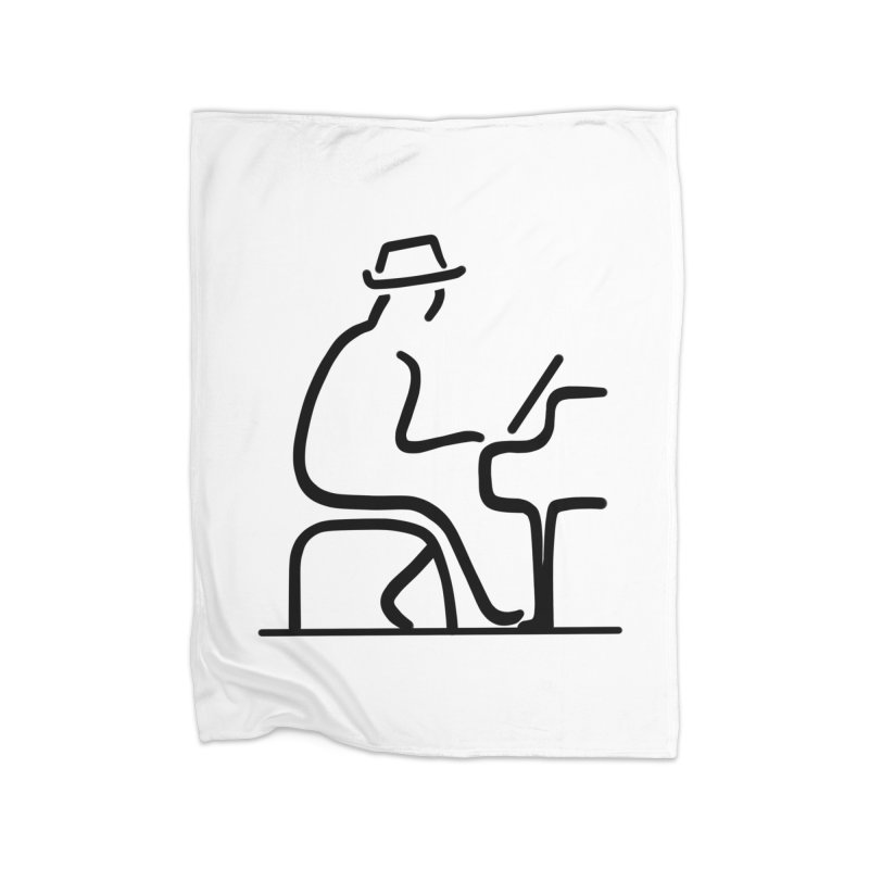 Be The Instrument (No text) Home Blanket by The Zach Bridges Keys Shop!