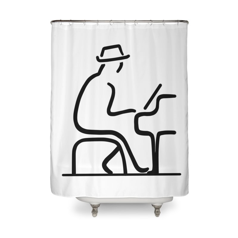 Be The Instrument (No text) Home Shower Curtain by The Zach Bridges Keys Shop!