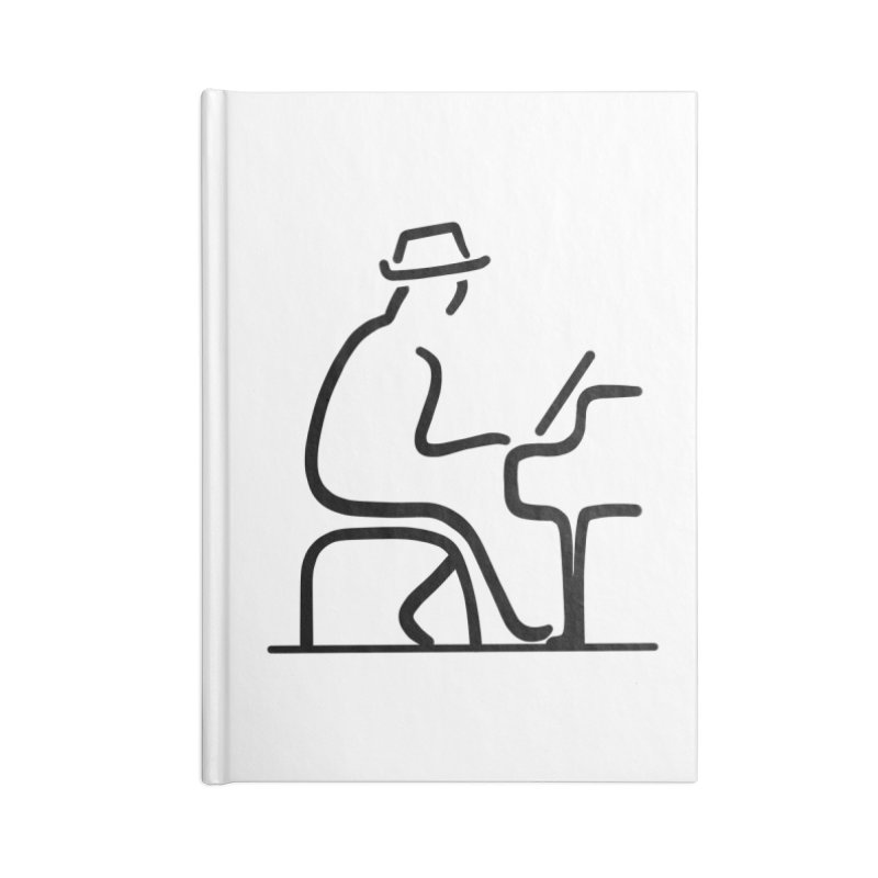 Be The Instrument (No text) Accessories Notebook by The Zach Bridges Keys Shop!