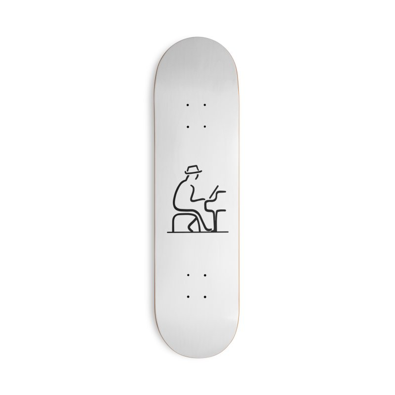 Be The Instrument (No text) Accessories Skateboard by The Zach Bridges Keys Shop!