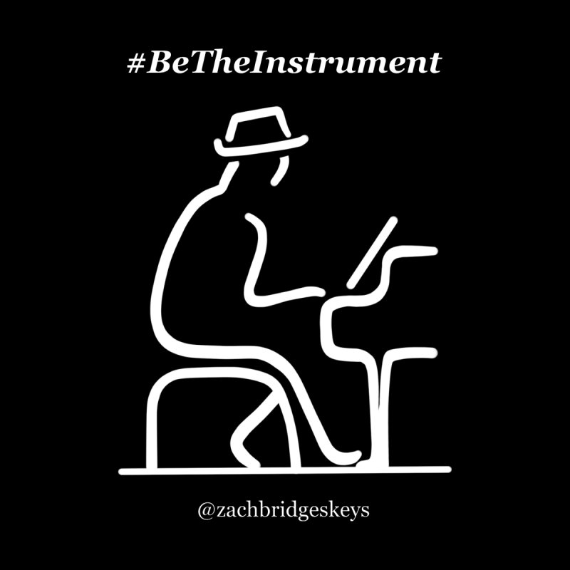 Be The Instrument (White) Accessories Mug by The Zach Bridges Keys Shop!