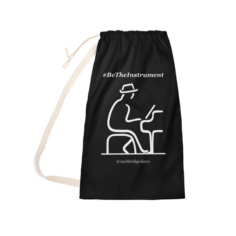 Be The Instrument (White) Accessories Bag by The Zach Bridges Keys Shop!