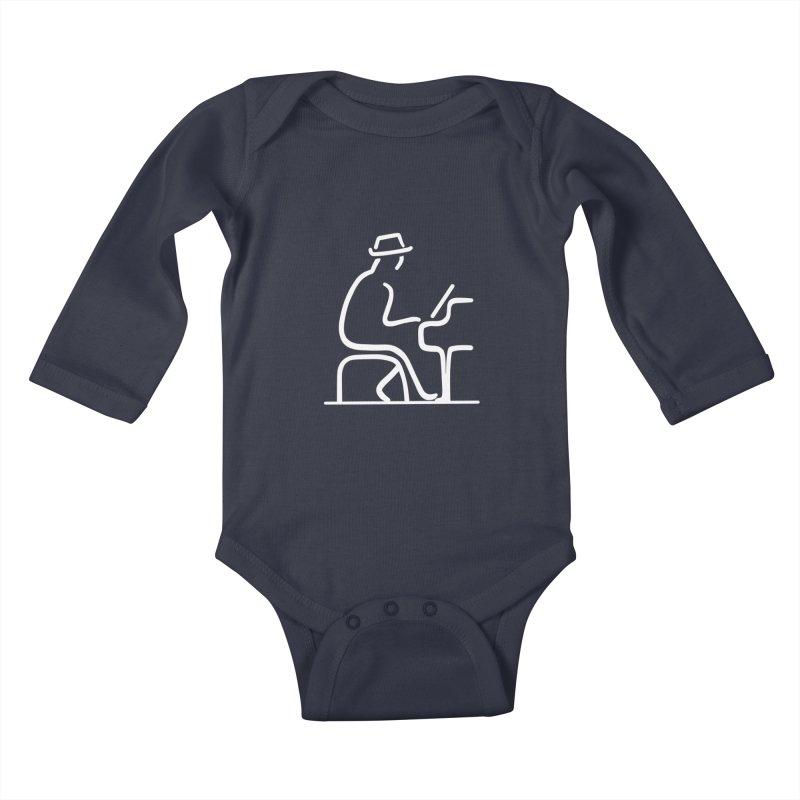 Be The Instrument (White, no text) Kids Baby Longsleeve Bodysuit by The Zach Bridges Keys Shop!