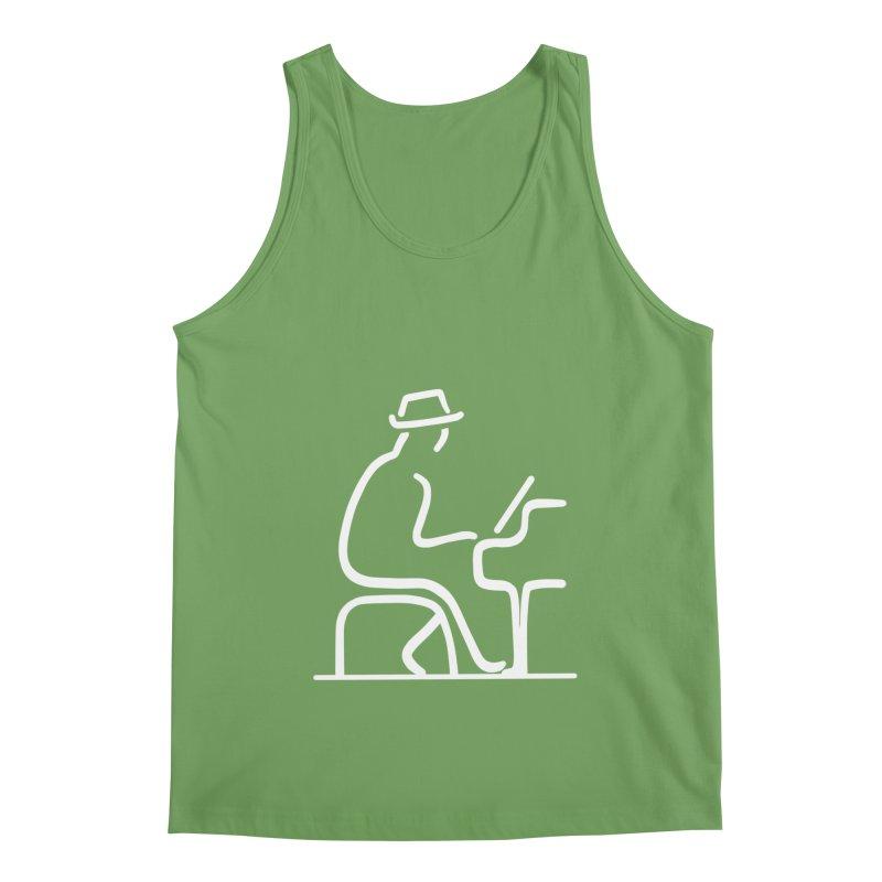 Be The Instrument (White, no text) Men's Tank by The Zach Bridges Keys Shop!