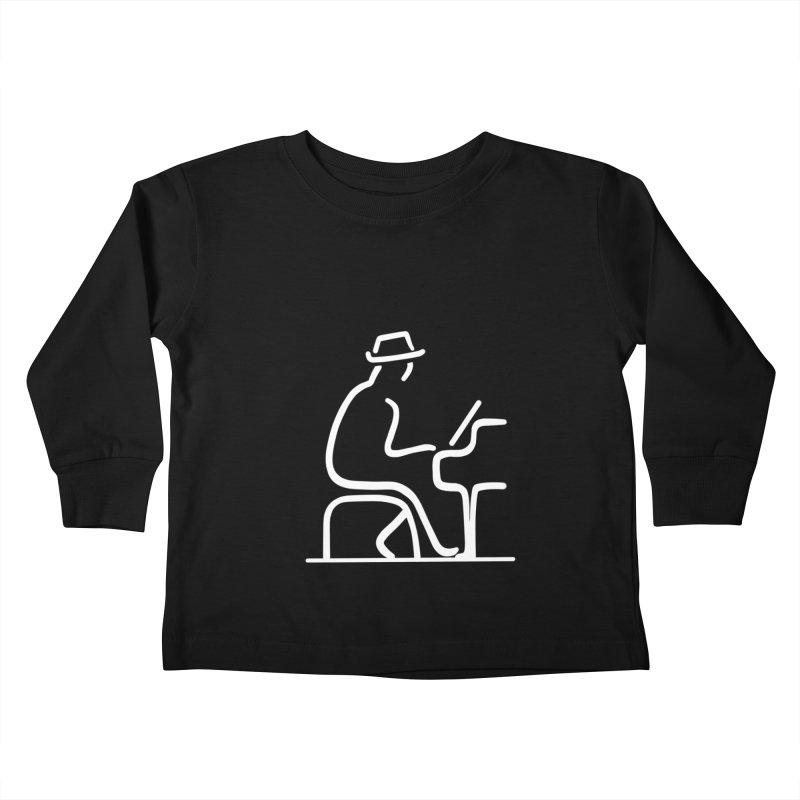 Be The Instrument (White, no text) Kids Toddler Longsleeve T-Shirt by The Zach Bridges Keys Shop!