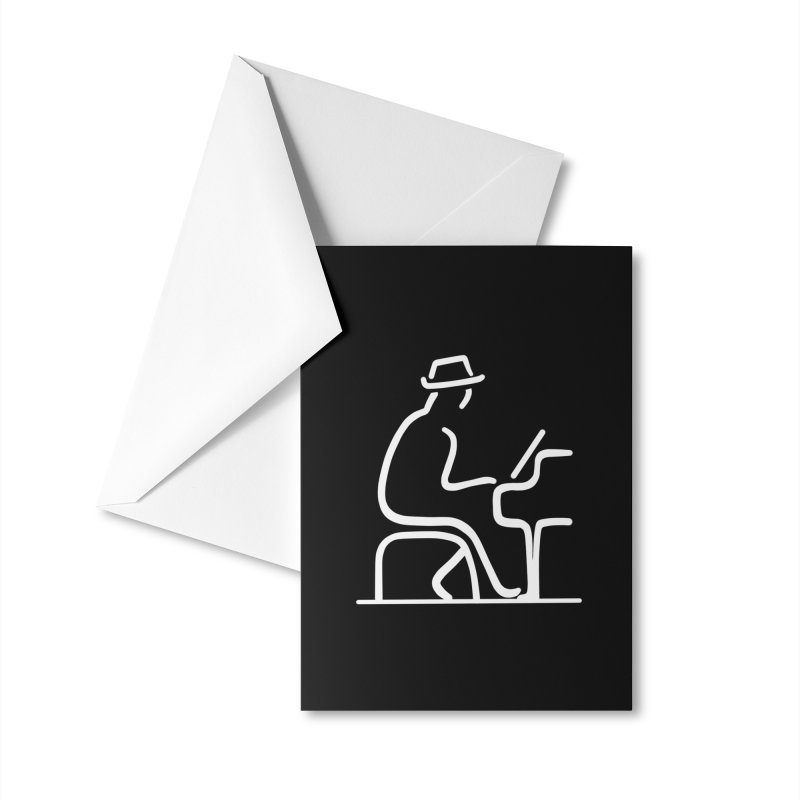 Be The Instrument (White, no text) Accessories Greeting Card by The Zach Bridges Keys Shop!