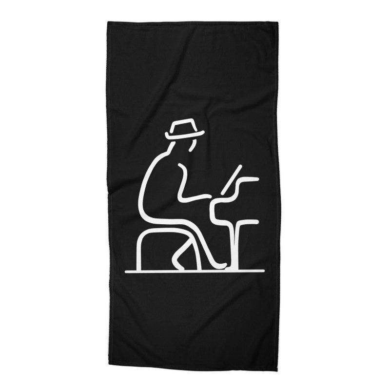 Be The Instrument (White, no text) Accessories Beach Towel by The Zach Bridges Keys Shop!