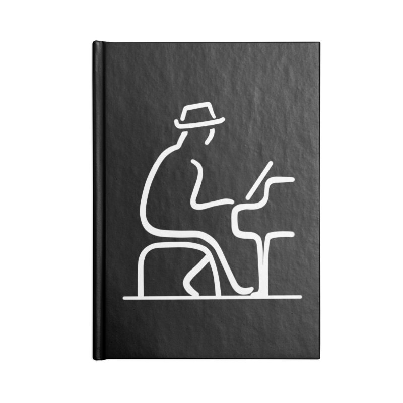 Be The Instrument (White, no text) Accessories Notebook by The Zach Bridges Keys Shop!