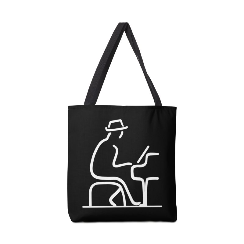 Be The Instrument (White, no text) Accessories Bag by The Zach Bridges Keys Shop!