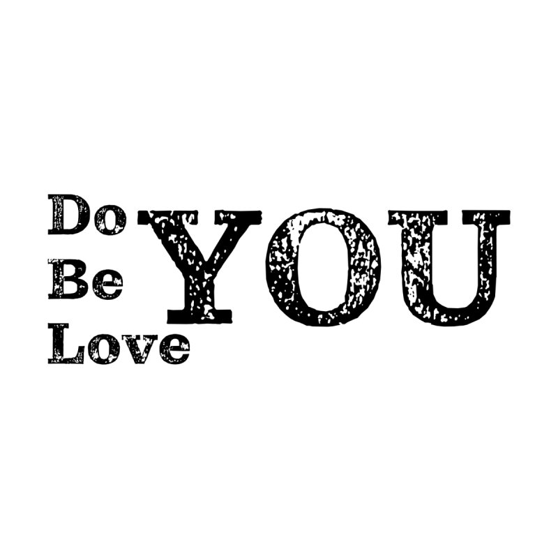 Do YOU, Be YOU, Love YOU Accessories Sticker by The Zach Bridges Keys Shop!