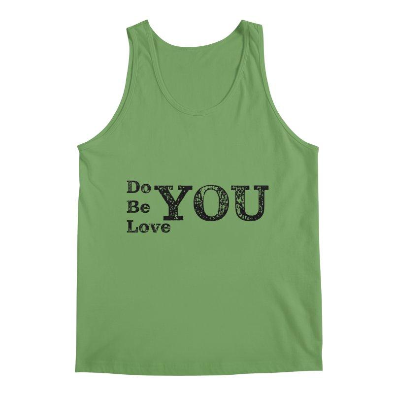 Do YOU, Be YOU, Love YOU Men's Tank by The Zach Bridges Keys Shop!