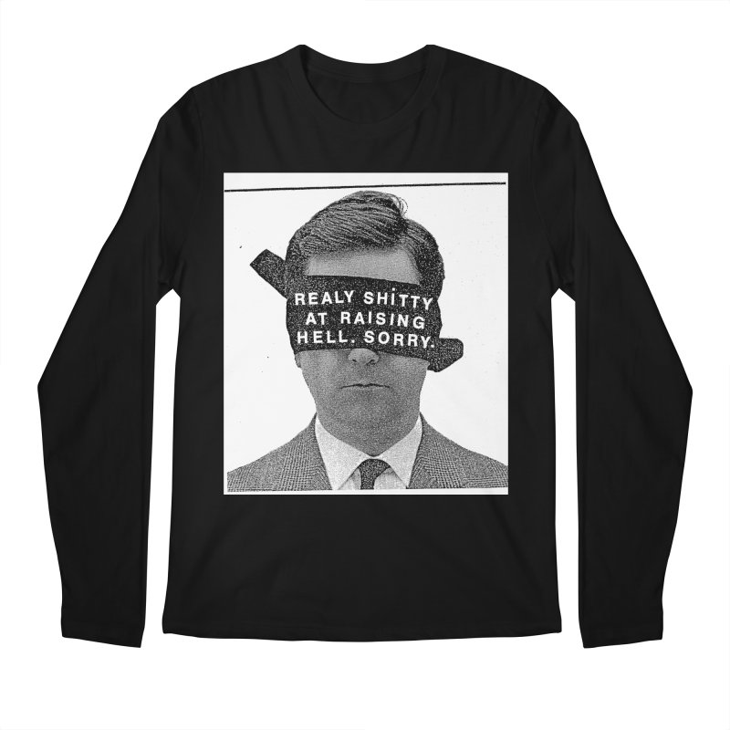 REALY SHITTY Men's Longsleeve T-Shirt by Zachary Hobbs