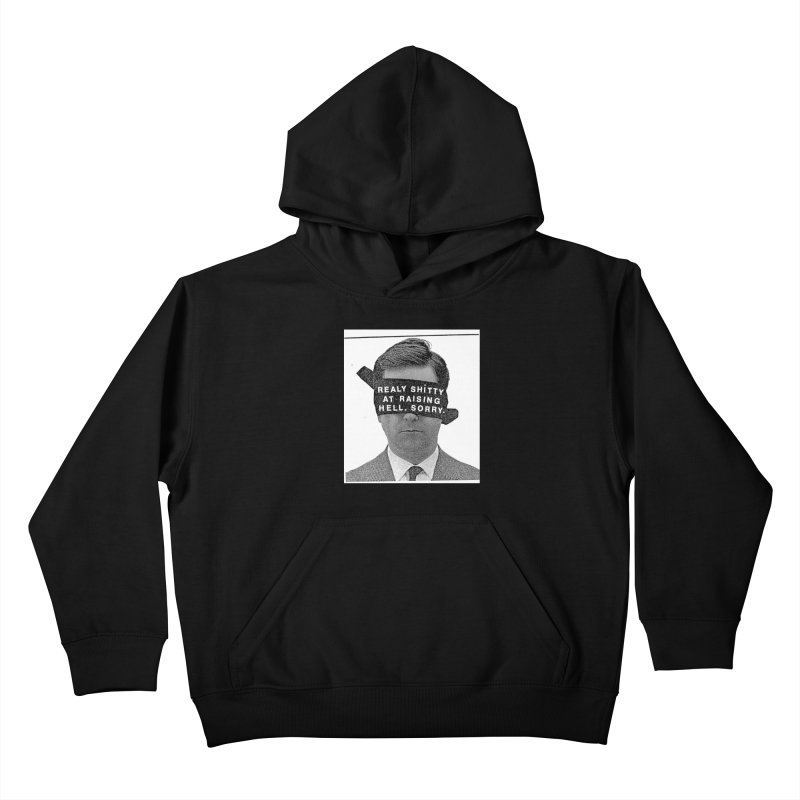 REALY SHITTY Kids Pullover Hoody by Zachary Hobbs