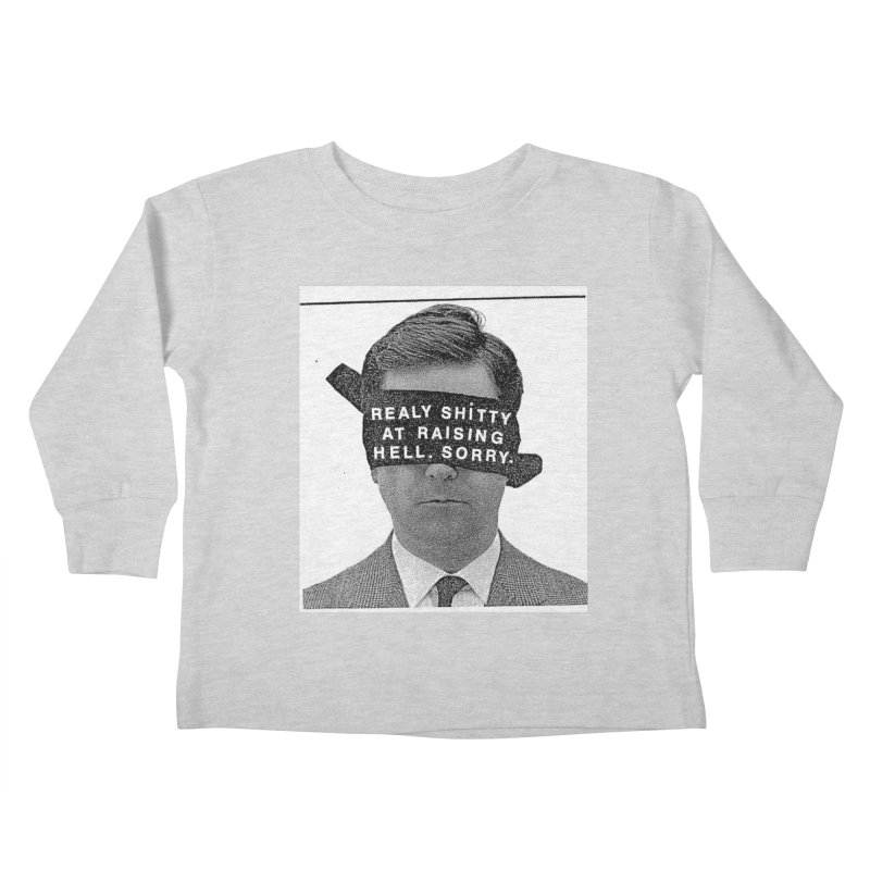 REALY SHITTY Kids Toddler Longsleeve T-Shirt by Zachary Hobbs