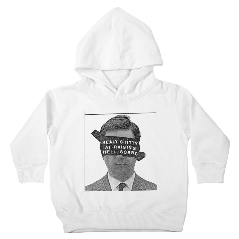 REALY SHITTY Kids Toddler Pullover Hoody by Zachary Hobbs