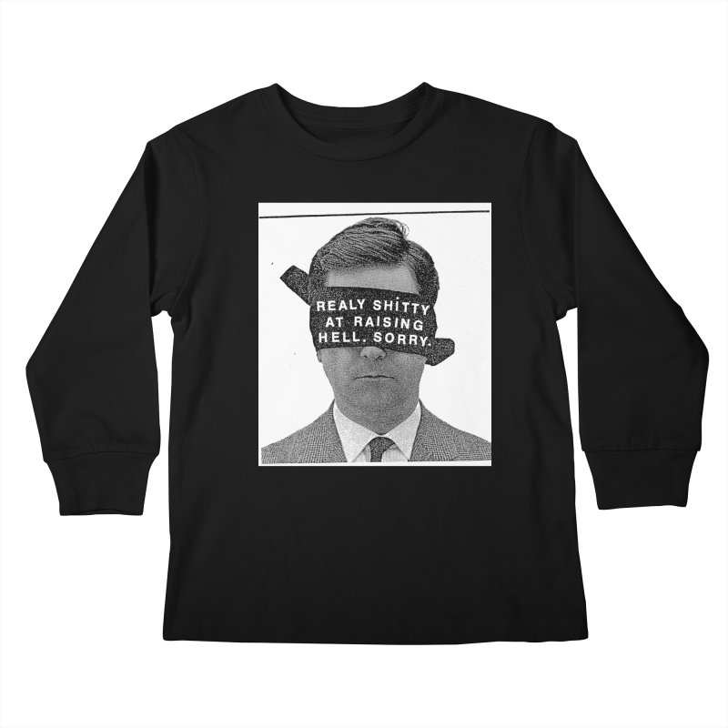 REALY SHITTY Kids Longsleeve T-Shirt by Zachary Hobbs