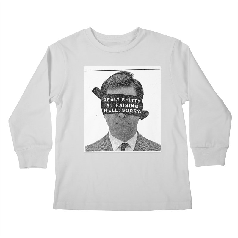 REALY SHITTY Kids Longsleeve T-Shirt by Zachary Hobbs