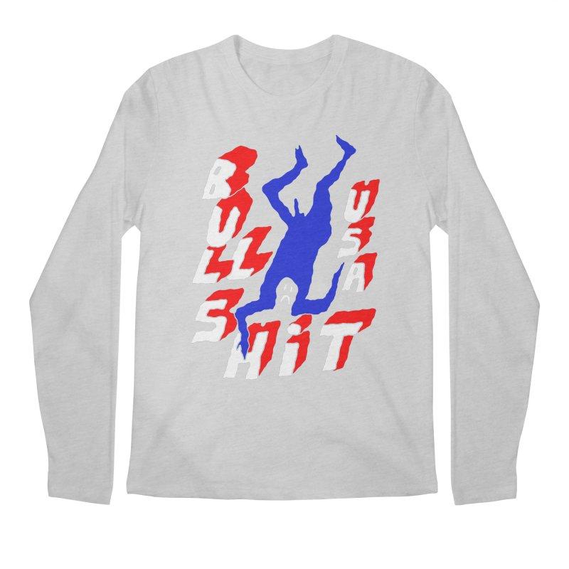 BULLSHIT USA Men's Longsleeve T-Shirt by Zachary Hobbs