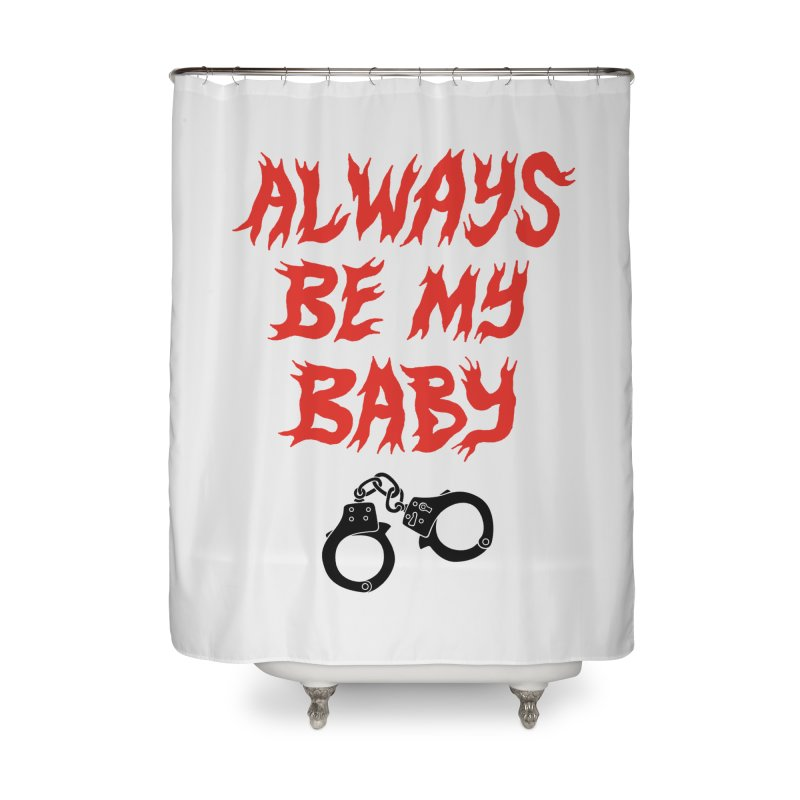 ABMB Home Shower Curtain by Zachary Hobbs