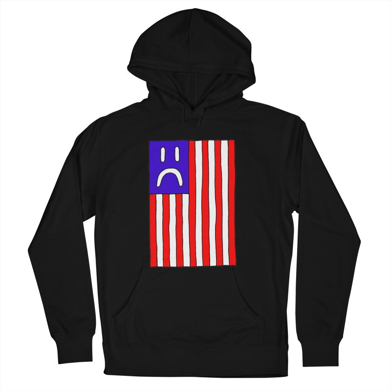 Sad Flag Women's Pullover Hoody by Zachary Hobbs
