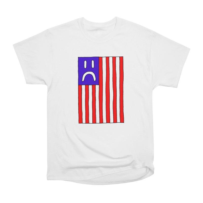 Sad Flag Men's Classic T-Shirt by Zachary Hobbs