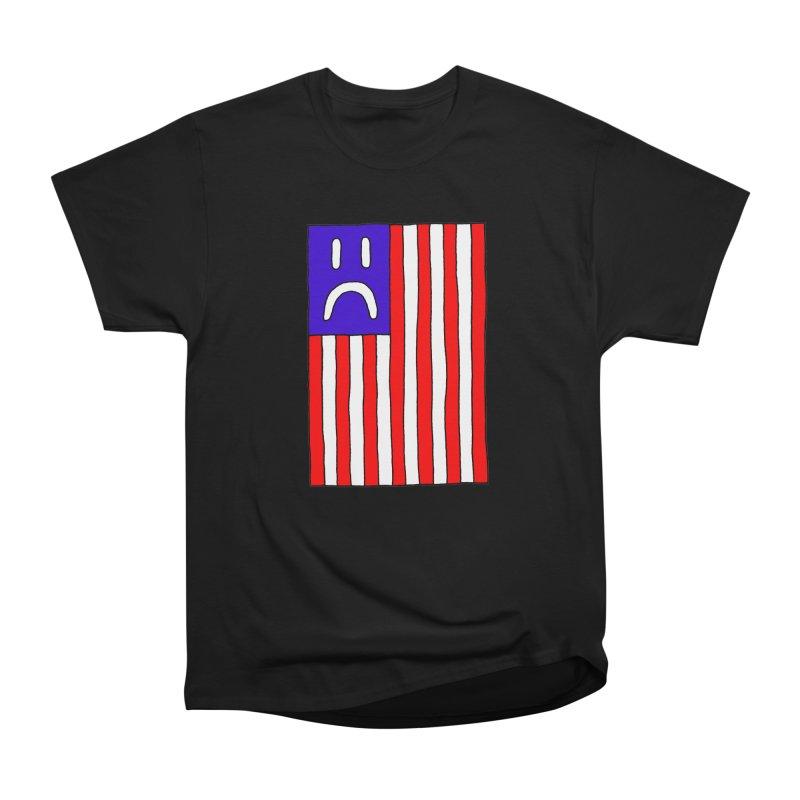 Sad Flag Women's Classic Unisex T-Shirt by Zachary Hobbs