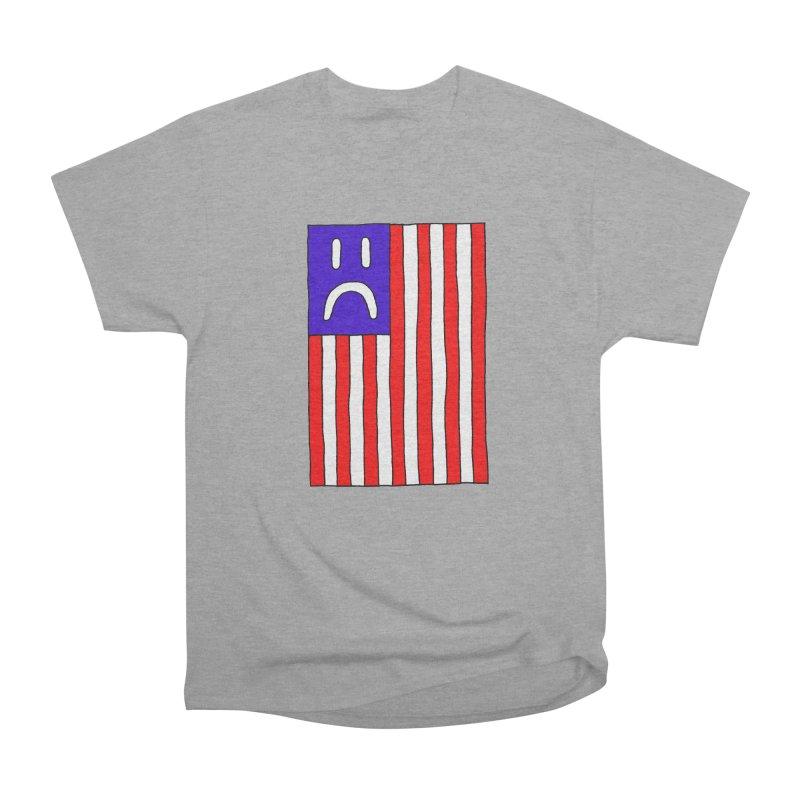 Sad Flag Women's Heavyweight Unisex T-Shirt by Zachary Hobbs