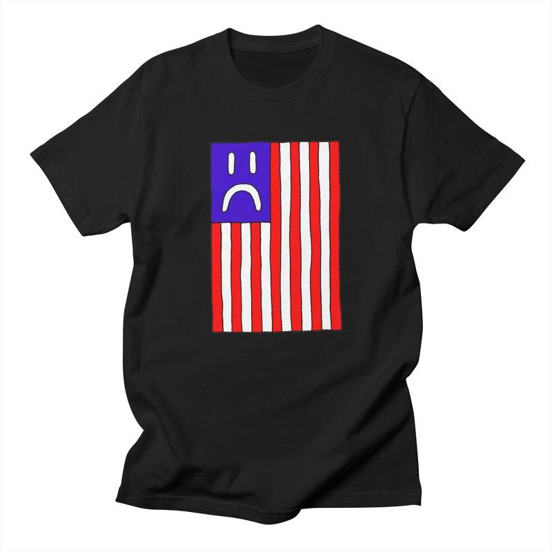 Sad Flag Women's Unisex T-Shirt by Zachary Hobbs