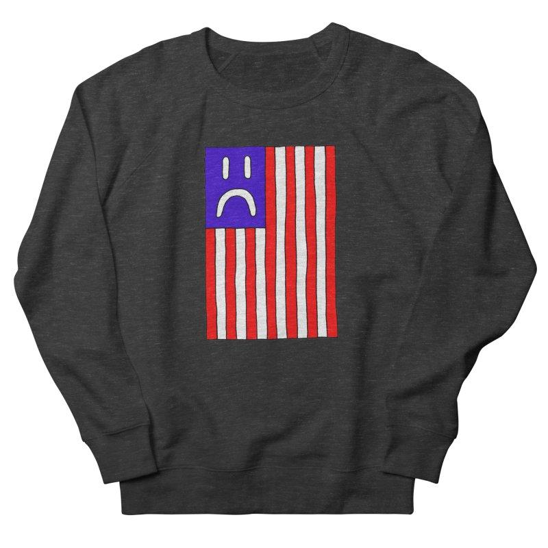 Sad Flag Women's Sweatshirt by Zachary Hobbs