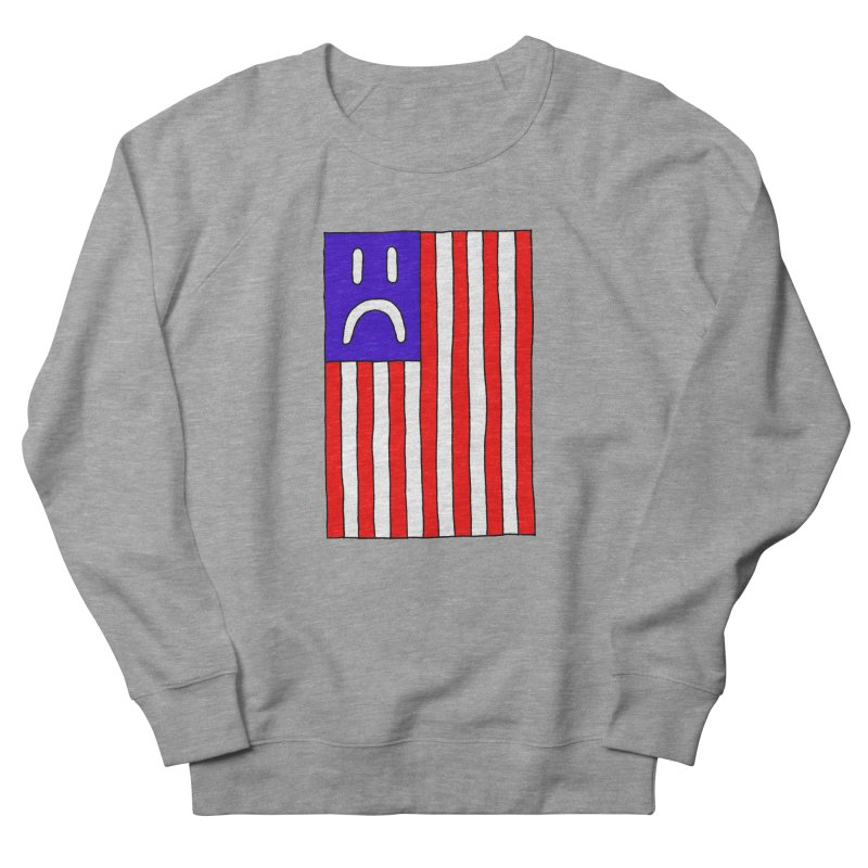 Sad Flag Men's Sweatshirt by Zachary Hobbs