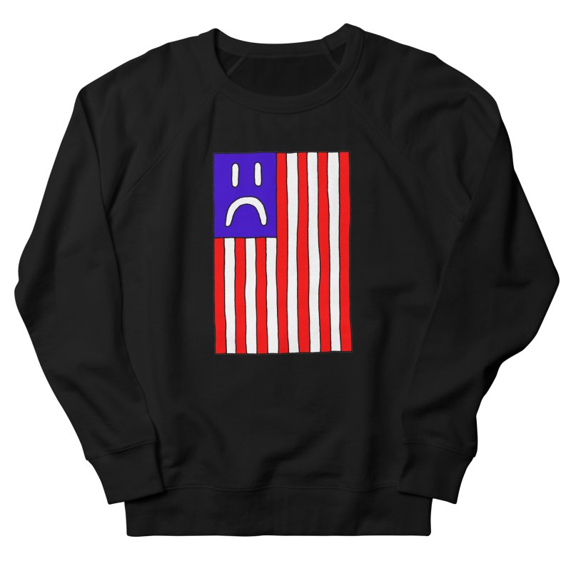 Sad Flag Men's Sweatshirt by Zachary Hobbs