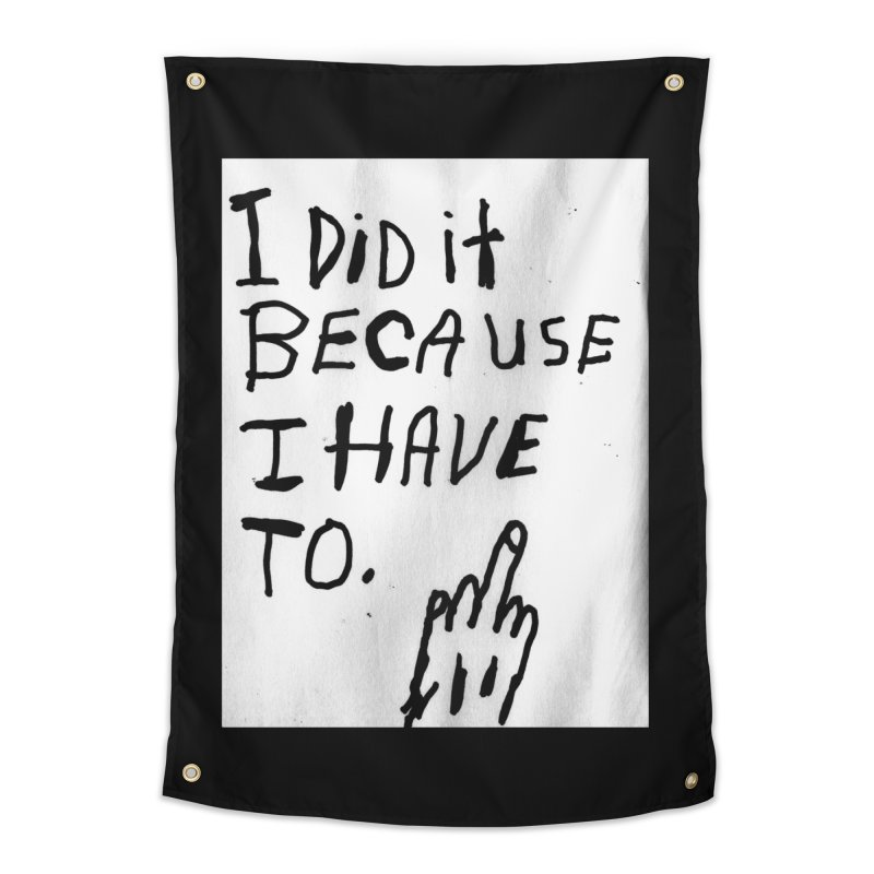 My Rationale Home Tapestry by Zachary Hobbs
