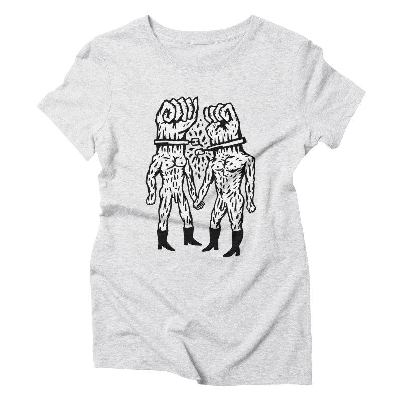 Hardcore Logo Women's Triblend T-shirt by Zachary Hobbs