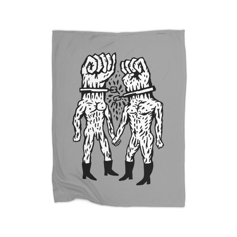 Hardcore Logo Home Blanket by Zachary Hobbs