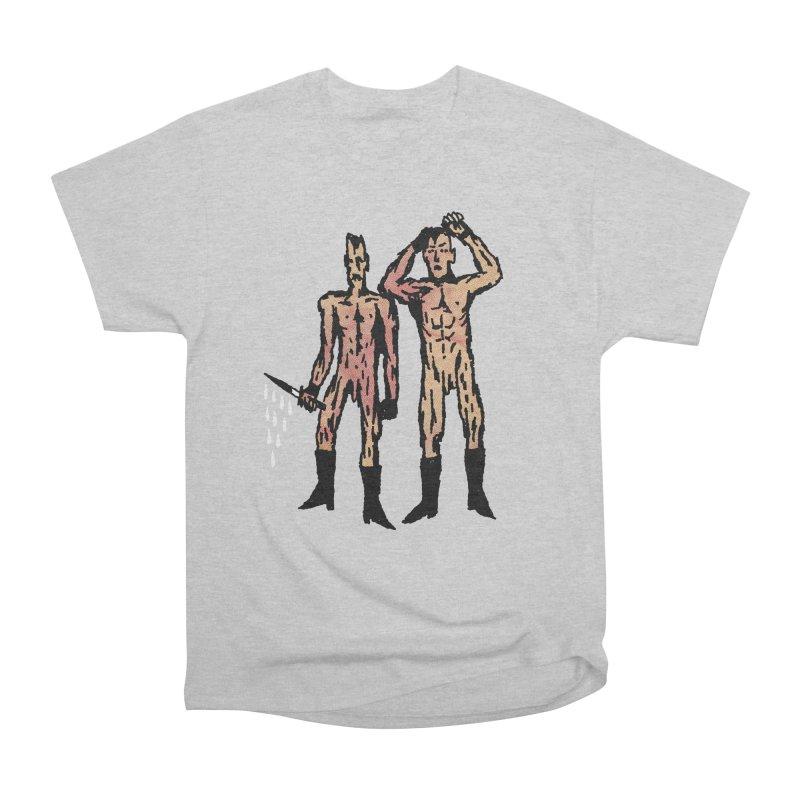 Two Nudes Women's Heavyweight Unisex T-Shirt by Zachary Hobbs