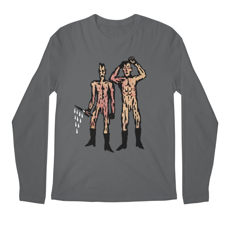 Two Nudes Men's Longsleeve T-Shirt by Zachary Hobbs