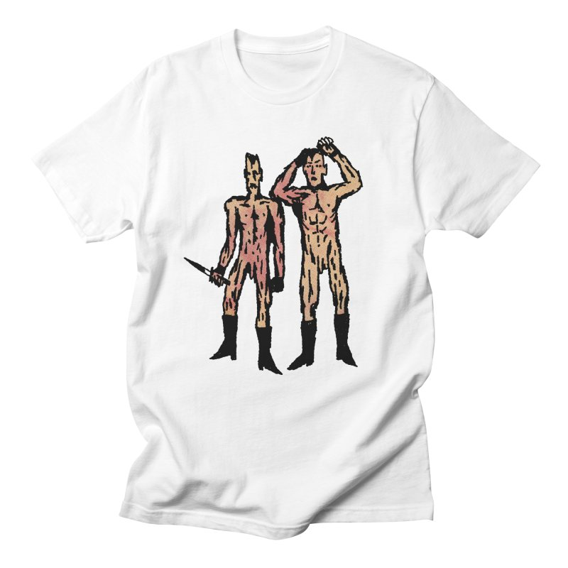 Two Nudes Men's T-shirt by Zachary Hobbs